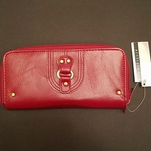Handbags - Women's Red Wallet/Clutch